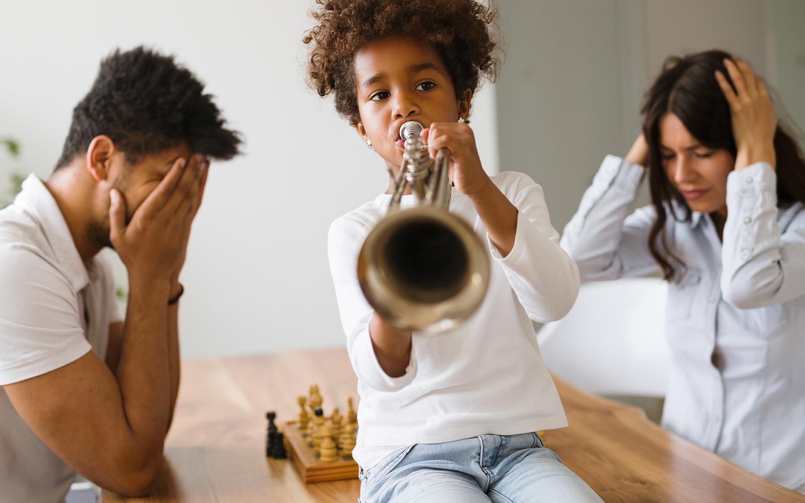 Problema de ruidos en la comunidad de vecinos
